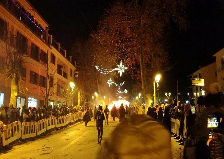 Agnone – 'Ndocciata 2017, si rinnova il rito del fuoco nella splendida cittadina altomolisana.