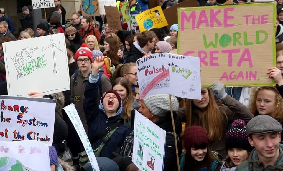 Giovani in piazza per il clima anche in Italia e nel Molise!